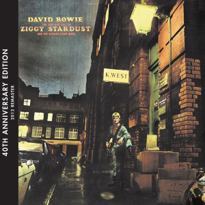 "David Bowie ""The Rise And Fall Of Ziggy Stardust And The Spiders From Mars"" 40th Anniversary Edition"